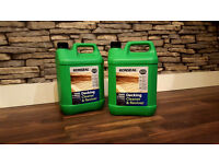 2 x New Roseal Decking Cleaner and Reviver - 5 litres (10 litres total)