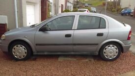 Vauxhall astra club 1600 52 plate no MOT, currently SORNed