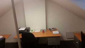 Desk to rent in an office £100 per month all bills included