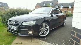 AUDI A5 CONVERTIBLE TFSI TURBO SLINE, 2011, LOW MILES, MINT