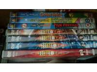 Assorted dvds films