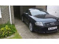 Audi TT Quattro 3.2 V6 petrol manual in black