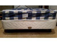 Single Bed Myers With Mattress 90x190x40 - Warrington