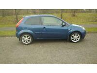 FORD FIESTA 1.4 ZETEC BLUE 3 DOOR HATCHBACK ALLOY WHEELS DRIVES GREAT