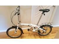 Dahon Mu folding bike like Brompton Tern Carrera