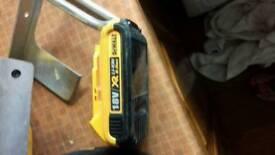 Dewalt 2amp batteries 18v x2