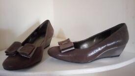 Van Dal wedge shoes - never worn