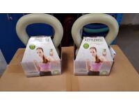 2 x Ecowellness Green Kettlebell 2.5kg.