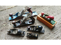 Wood Planes x6 Stanley (can be sold seperately)