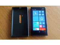 Nokia Lumia 920 (black) 32GB windows phone in as new condition with case and network unlocked