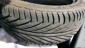 Almost new 225 50 r17 tyre