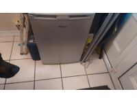 Fridge freezer. Under counter fridge