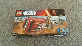 Star wars lego 75099 reys speeder