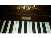 Boyd london piano £170;