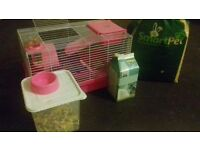 Hamster Cage for Syrian Hamster / full set everything you need