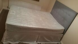 Firm Queen size bed with under drawers
