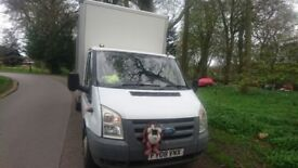 2008 transit box van, very reluctant sale , £4095ono may part ex