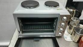 Oven with rings