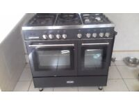90cm delonghi range cooker