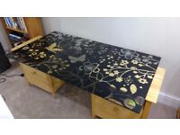 Ikea Glass desk top