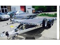 ***PAXTON TRAILER HIRE*** WOODFORD WBT131 16ft CAR TRANSPORTER HIRE £45