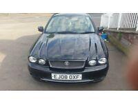 jaguar x type d sport 2008 new shape facelift model 11 mot sh v5