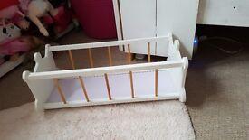 Dolls crib