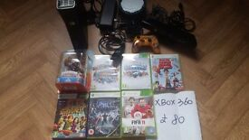 Xbox360 bundle for sale(please no time waters