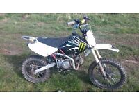 Pitbike Demon xlr 140cc swaps or sale