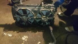 Mazda Rx8 231 6speed Radiator and Fan Shroud
