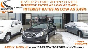 2013 Buick Verano Base*EVERYONE APPROVED* APPLY NOW DRIVE NOW.