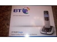 BT6520 Telephone with answer machine