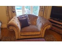 Brand New Regent Chair with 2 cushions by Sofology