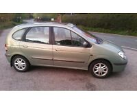 Renault Scenic mpv (02) full service history all belts with receipts recently done
