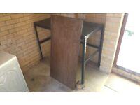 Small 2 shelf rack or workbench