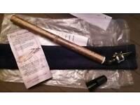 Brand new Saxaflute - black bamboo flute / saxaphone