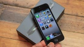 Used Iphone 5, Great Condition. with box and minimal scratches