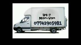 3.5ton Luton Van and Man for House Removal