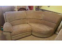Gorgeous two corner recliner sofas. £300 each.