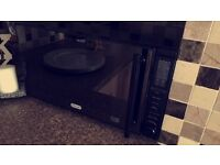 De longhi metallic black microwave oven