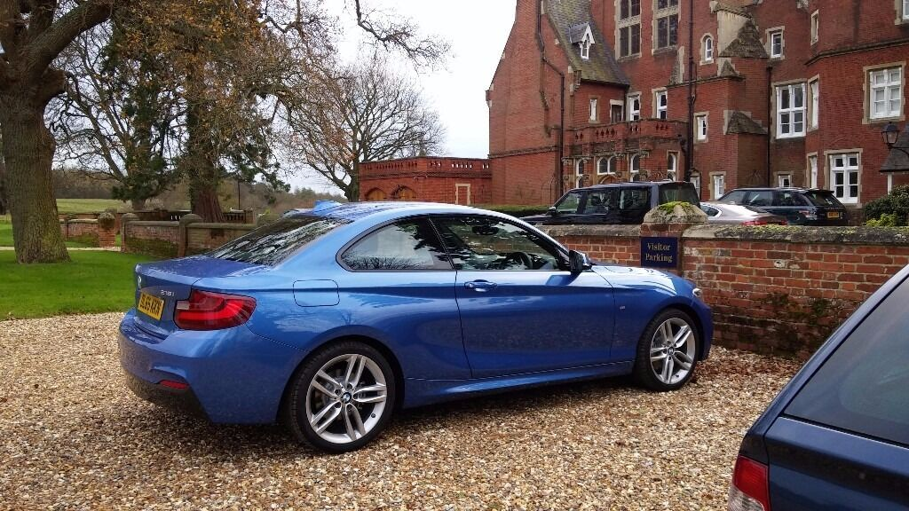 bmw 218i m sport coupe lease for 1 5 years only 285 per. Black Bedroom Furniture Sets. Home Design Ideas