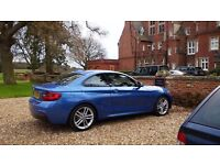 BMW 218i M Sport Coupe Lease for 1.5 years - only £285 per month