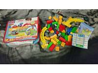 Thomas The tank engine train toys build block brick