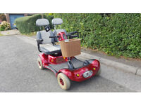 Rare Two Seater Shoprider Gemini Mobility Scooter NEW BATTERIES
