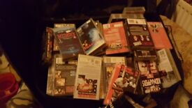 big suitcase full of vhs films