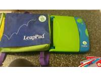 Leappad learning system with books