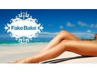 Fake bake spray tan, nails and more