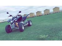 Quadzilla 320 cvt automatic quad bike. May swap