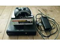 Xbox 360 and games brill condition