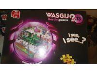 1000 piece WASGIJ jigsaws Destiny Collection